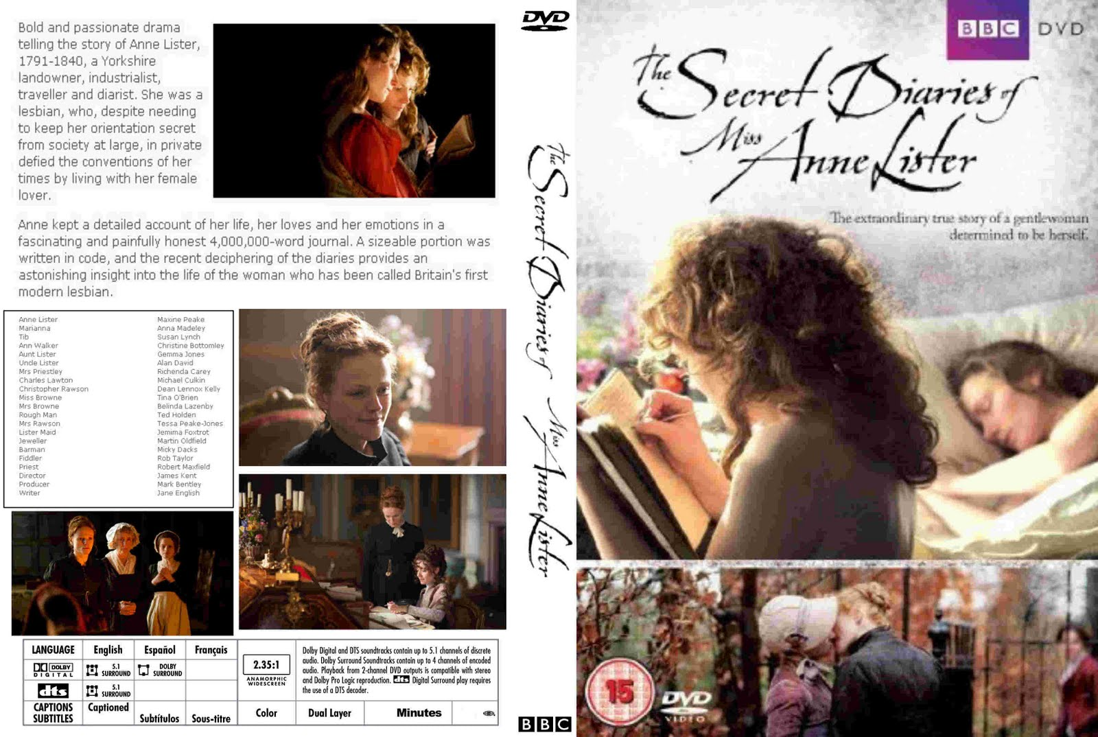 The secret diaries of miss anne lister subtitrare romana